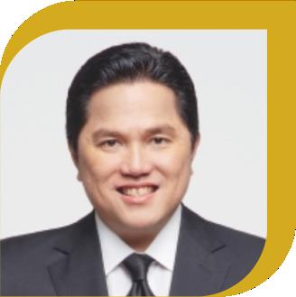 "</p> <p style=""text-align: center;"">Erick Thohir, BA, MBA*<br />(Keynote Speaker)</p> <p>"